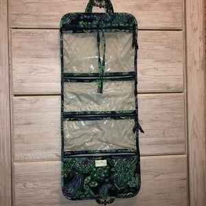 Vera Bradley Hanging Cosmetic and Toiletry Bag